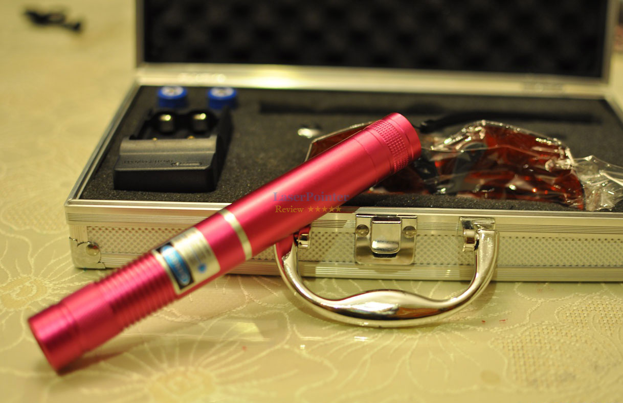 2w blue laser pointer review