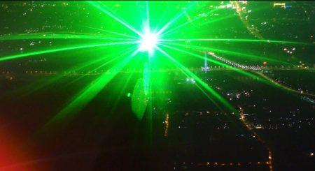 Laser irradiation of aircraft  Danger!