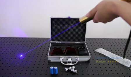 Power measurement video for best selling cool style blue laser pointer