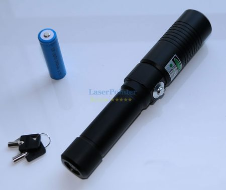 Most powerful 5W blue laser pointer VS 1Wgreen laser pointer