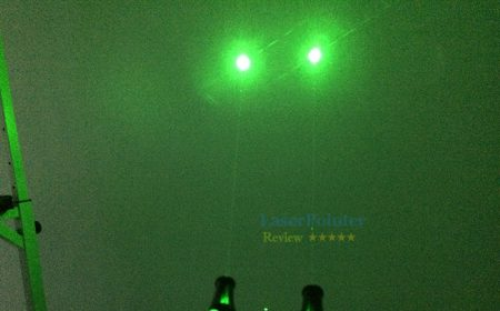 Real power test report of small green laser pointer