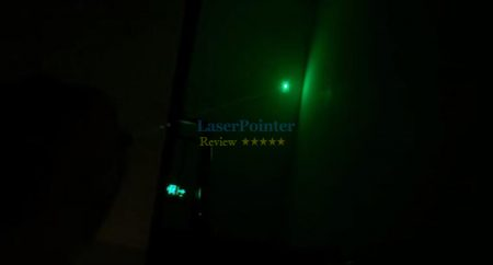 Small Green laser pointer review — actual power measurement