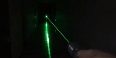Show you the real power of 1000mW green laser pointer