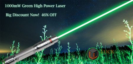 How to choose high power green laser pointer?