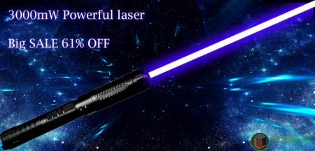 Be careful of being slaughtered, 3W high power laser pointer can also be so cheap