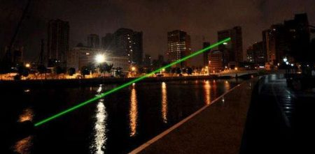 The use of laser pointers