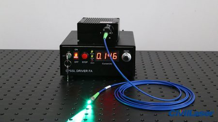 505nm Fiber Coupled Laser Video