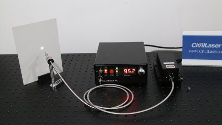 808nm 10W Fiber Laser System with Collimator