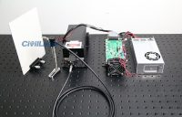 Customized Fiber Coupled Laser with Guiding Laser Beam