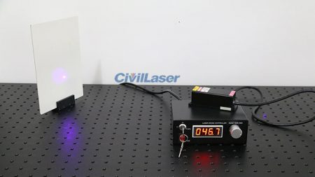 405nm Semiconductor Laser Blue-Violet Laser Beam