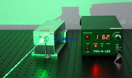 532nm High Power Laser CW/TTL Modulation