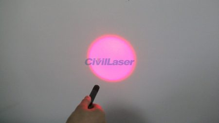 Red Laser Diode Module with Special Laser Spot