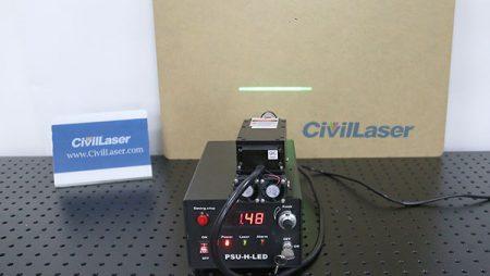 Lab Line Laser System — 532nm 3W DPSS Laser