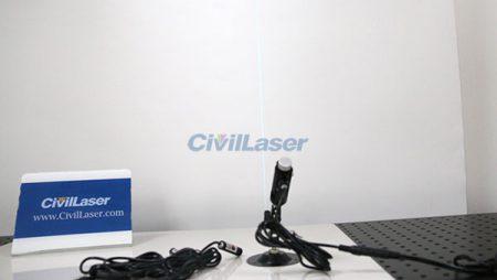 488nm Laser Module 1mW Line Laser Beam