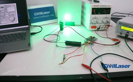 520nm Pigtailed Laser Module With TTL Modulation